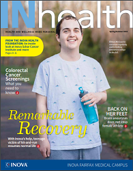 INhealth Magazine Cover Spring Summer 2019