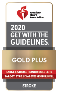 Get with the Guidelines Stroke badge