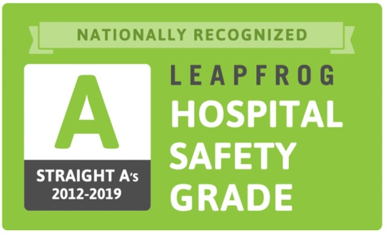 leapfrog safety award