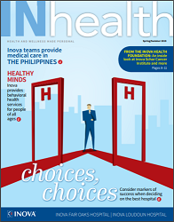 InHealth magazine cover