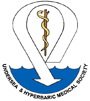 Undersea and Hyperbaric Medical Society logo
