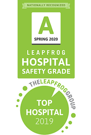 Leapfrog badges: A for safety and 2019 top hospital