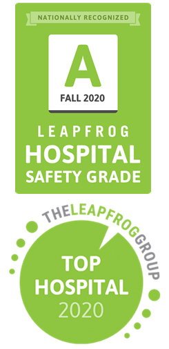 Leapfrog badges: A for safety and 2020 top hospital