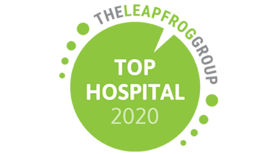 Leapfrog top hospital badge
