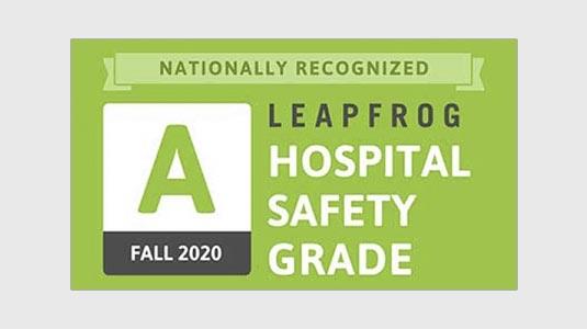 Leapfrog Safety Grade Fall 2020