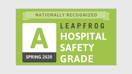 Leap Frog Safety award Spring 2020