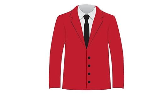 ambassador — Red Sport Coat