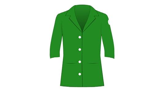 CHAPLIN Green Jacket