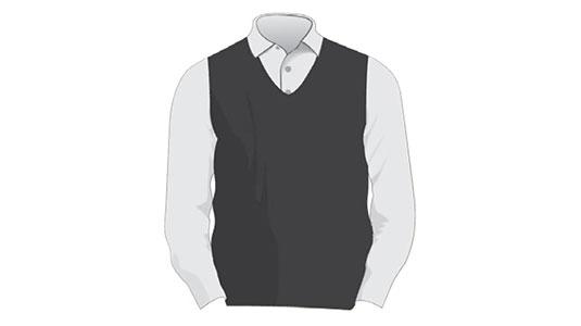 PATIENT REGISTRATION Sweater Vest and Button-up