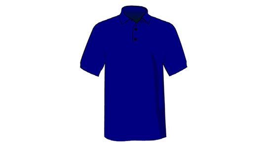 SUPPLY CHAIN MANAGEMENT WAREHOUSE Navy Blue Polo