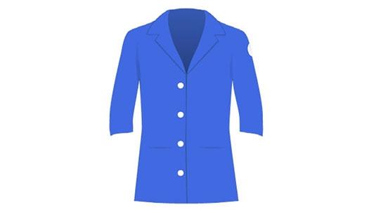 VOLUNTEER — Royal Blue Jacket
