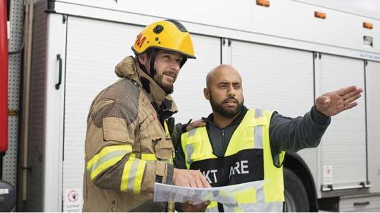 Fireman and EMT