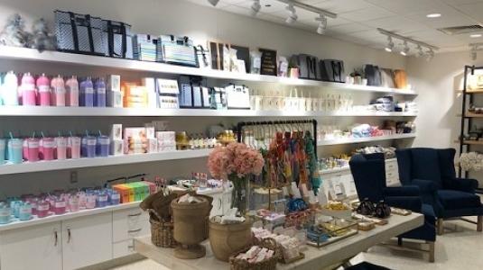 welcoming gift shop