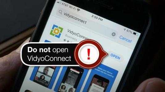 do not open vidyoconnect