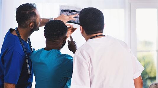 3 docs looking at xray
