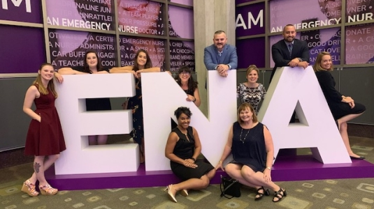 Colleagues at ENA conference